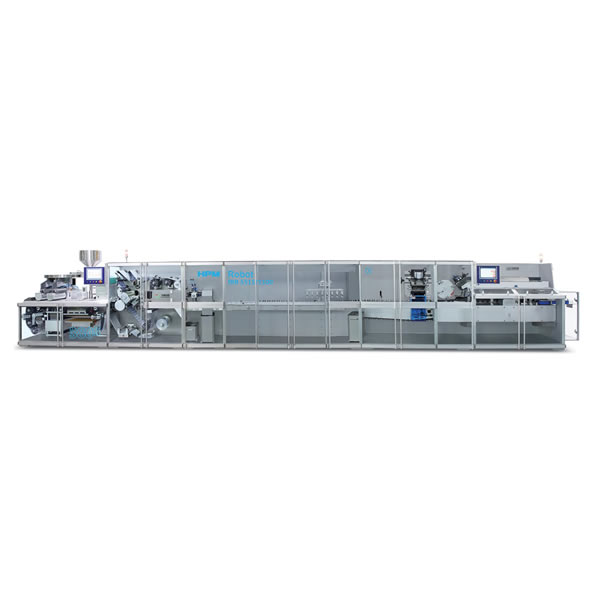 高速泡罩包装及自动装盒联动生产线(智能机器人应用)